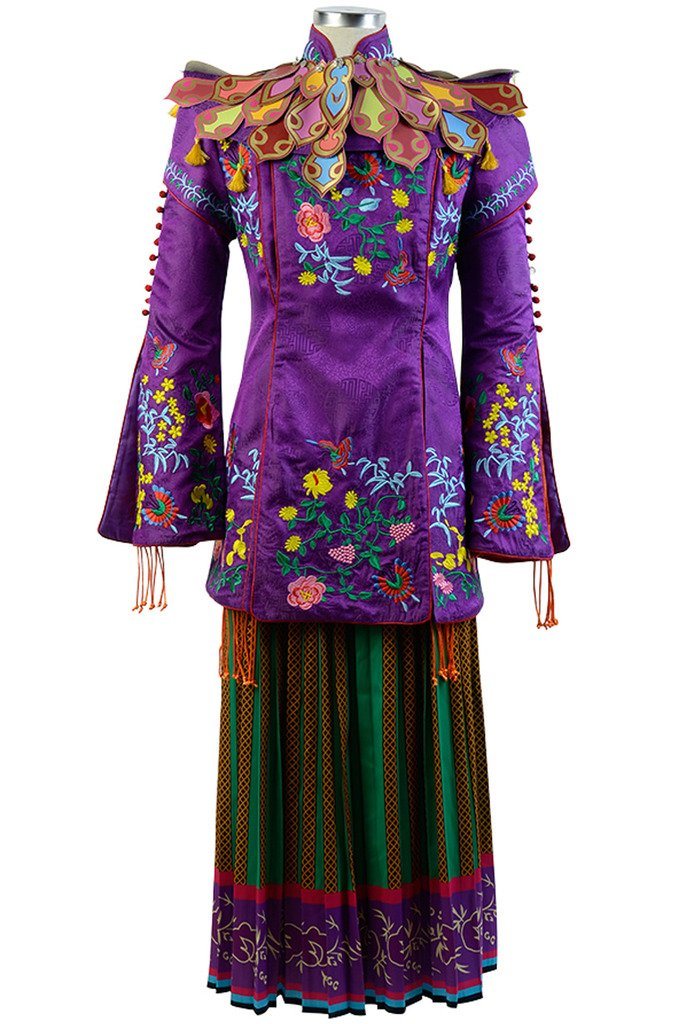 Sidnor Alice Through The Looking Glass Mandarin Cosplay Costume Outfit Suit Dress by Sidnor