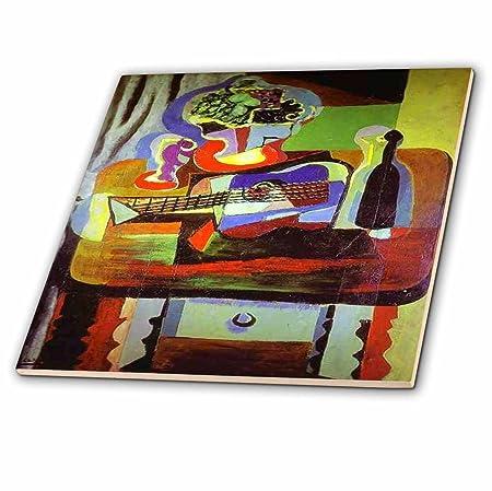 3dRose Florene Cubism Art - Picasso Pintura Cuenco de Frutas N ...
