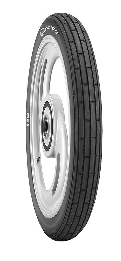 TVS Tyres Rib Stiffer 2.75-18 Tube-Type Bike Tyre, Front