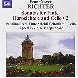 Richter: Sonata Da Camera For Flute, Harsichord And Cello (NAXOS 8572030)