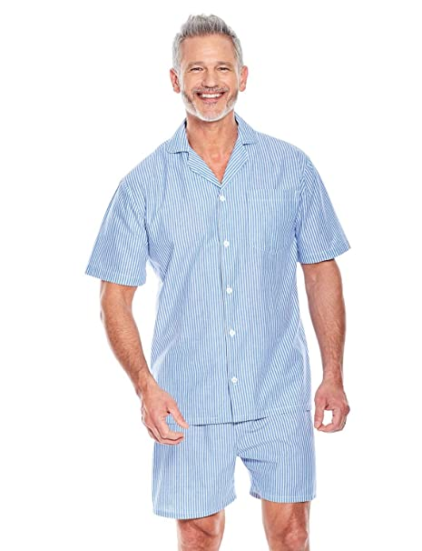 Tootal Pijama - Manga corta - para hombre Stripe Large