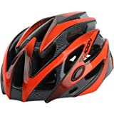 MOON Bike Helmets for Adults Lightweight 25 Vents Dial Fit System Removable Visor CPSC Certified Bicycle, Road Cycling…