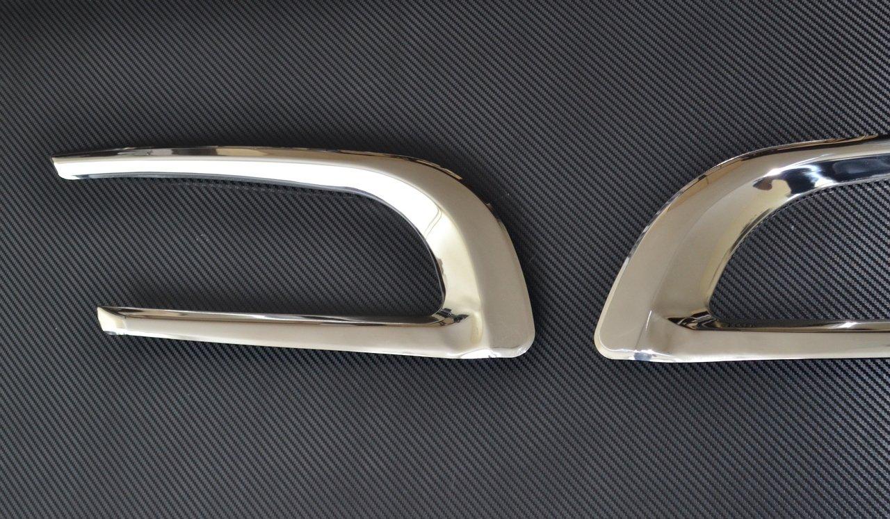 Piastre decorative in acciaio inox con lucidatura a specchio per Scania P R 2010-2016/OEM 1870595 1870596 confezione da 2