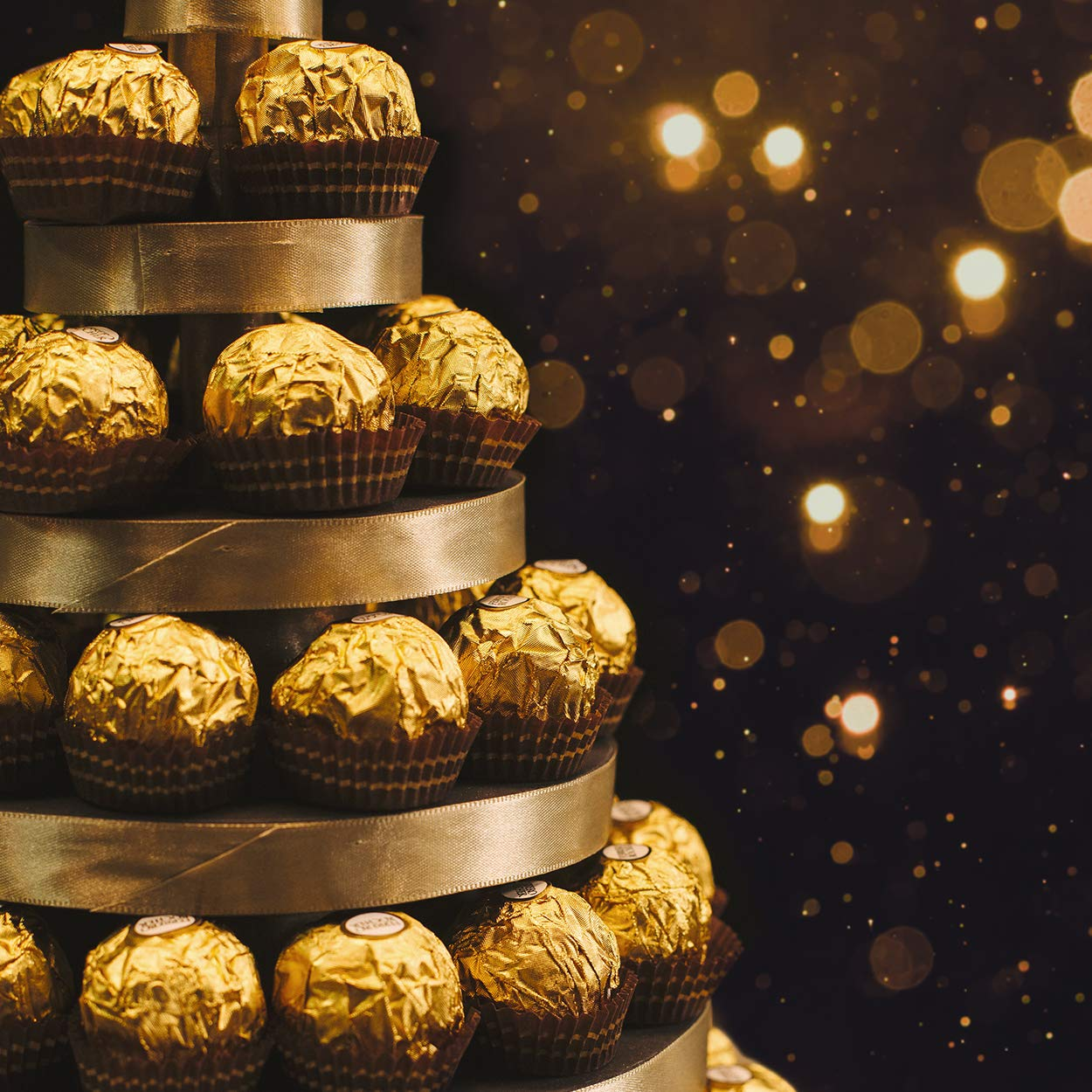 Ferrero Rocher Fine Hazelnut Chocolates, 21.1 Oz, 48 Count by Ferrero Rocher (Image #6)