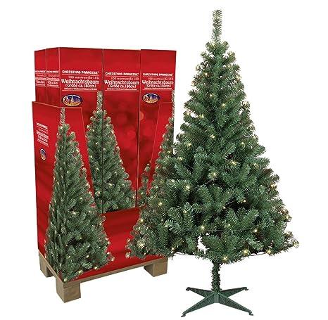 Kleiner Weihnachtsbaum Mit Beleuchtung.Kunstlicher Weihnachtsbaum Mit Beleuchtung 180 Cm Hoch Tannenbaum Kunstlich Christbaum Mit Stander