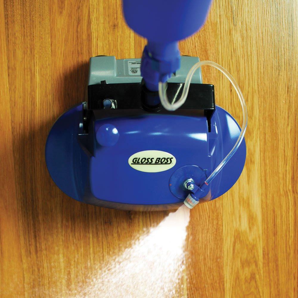 Superb Amazon.com   Pullman Holt Gloss Boss Plus Floor Scrubber, Buffer With  Attached Spray Applicator B200776
