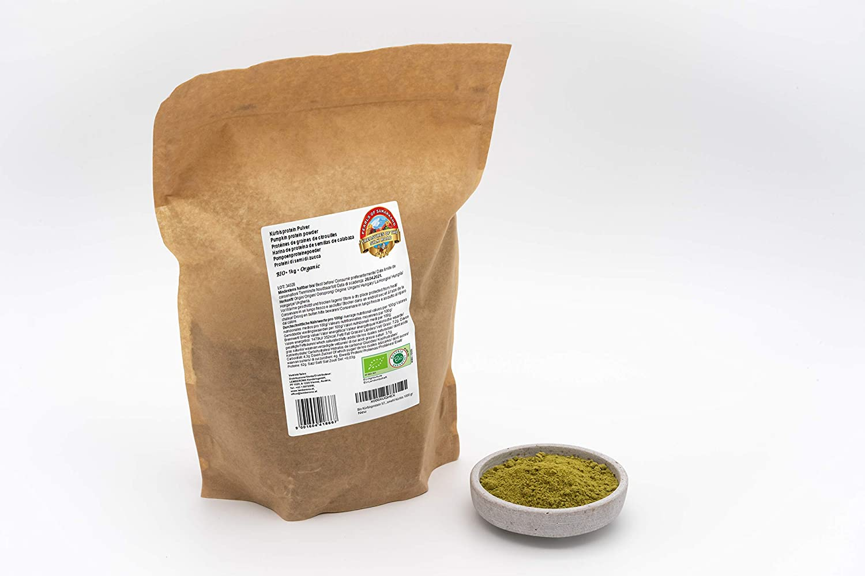 Harina de Proteínas de Semillas Pipas de calabaza Bio 57% proteína 1 kg polvo vegana con 14% de fibra dietética orgánicas low-carb pumpkin protein ...