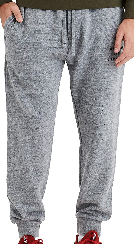 Fleece Active Joggers Elastic Pants America Eagle Sweatpants for Boys /& Girls