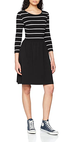 ONLY NOS Onlamber 3/4 Fit and Flair Dress Noos, Vestido para Mujer,