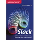 Slack: Getting Past Burnout, Busywork, and the Myth of Total Efficiency