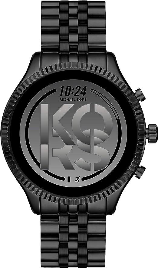Michael Kors Gen 5 Lexington smartwatch para Mujer con Caja y Correa de Acero Inoxidable Negro MKT5096: Amazon.es: Relojes