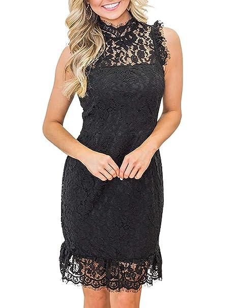 Amazon.com: Vestido largo de una pieza para mujer, sin ...