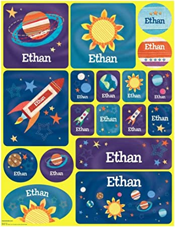 Boys School Address Label Stickers Personalized Address Label Stickers Nautical Crab Custom Address Labels for Kids