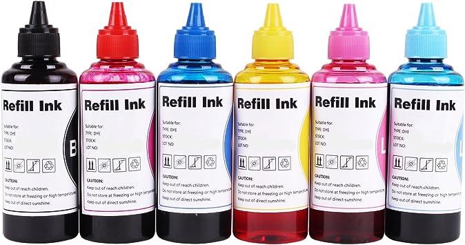 Amazon.com: colul Refill tinta Kit Dye tinta uso para ...