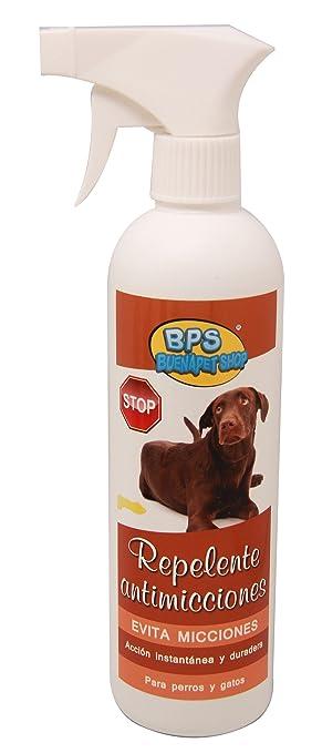 BPS (R)) Spray Repelente Antimicciones, Repellent Avoids Urinations Spray para Perro, Gato BPS-4269: Amazon.es: Deportes y aire libre