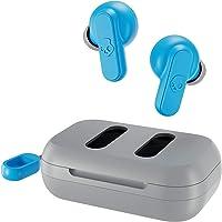 SKULLCANDY Dime True - Auriculares in-Ear inalámbricos, Color Gris Claro/Azul