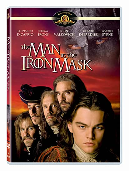 man in the iron mask cast