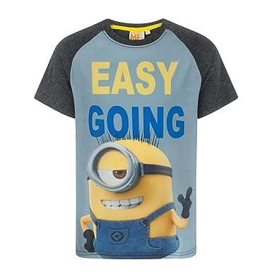87ce4864c8701 Despicable Me Easy Going Minion Boy s T-Shirt  Amazon.fr  Vêtements ...