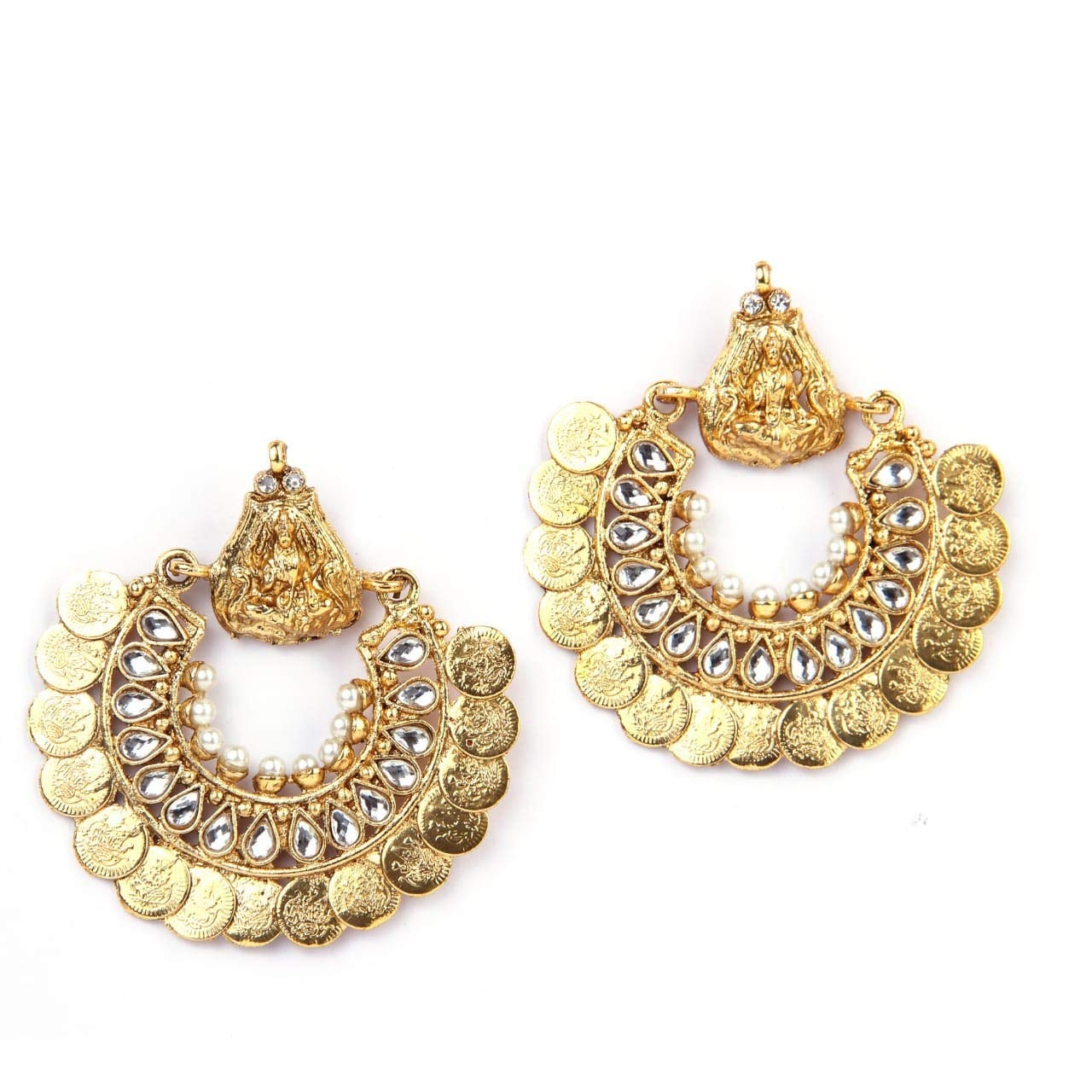 9e4ec955a Buy Deepika's Ramleela Earring Online at Low Prices in India | Amazon  Jewellery Store - Amazon.in