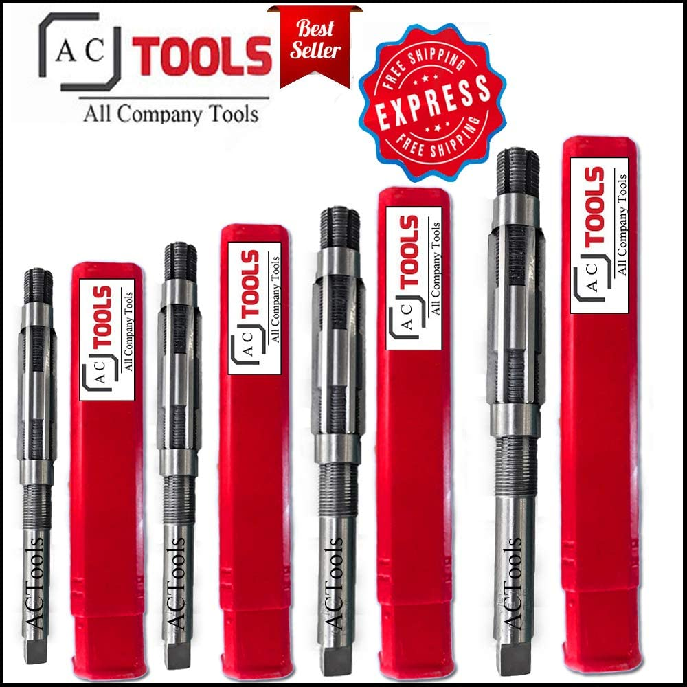 Adjustable Hand Reamer Set 1//4-2 7//32 Free Express Shipping ACTools Expanding HV-H16 6.35-56.35mm H1 - H10 8//A-M
