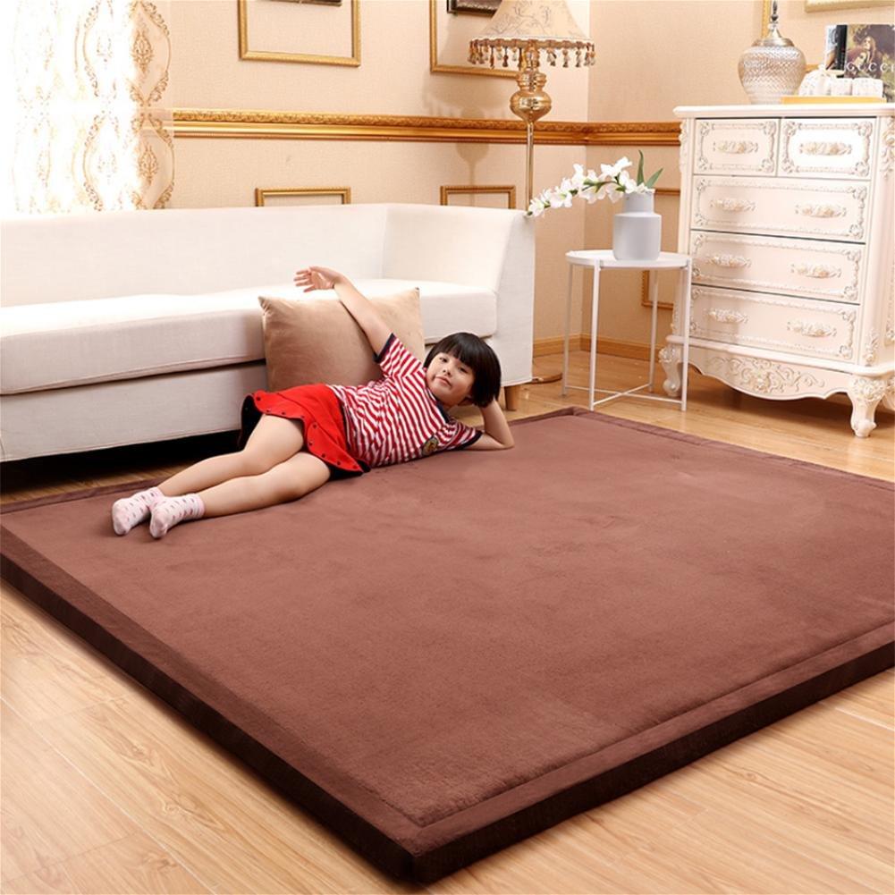 WENBIAOXUEDickere Tatami mat bodenmatte erker matratze Baby splittersichere Matte Matte Matte Schlafzimmer Teppich, 1.5 x 2 Meters (Thick 3cm), Sky braun B077SPKLMH Teppiche 7a4884