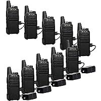 $114 » Retevis RT22 Walkie Talkies Rechargeable,Long Range Two Way Radio,2 Way Radio for Adults,…
