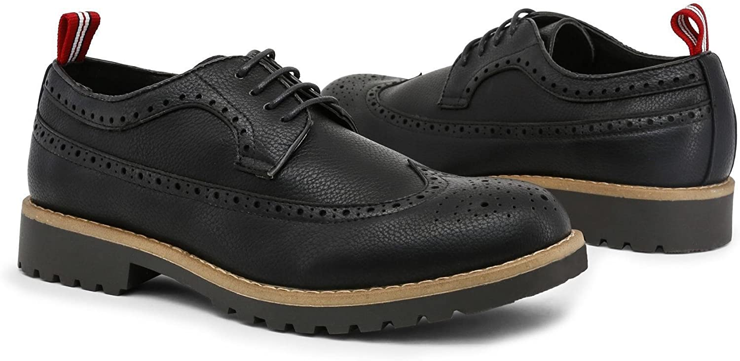 Duca di Morrone Mens Lace up Bradford/_Black
