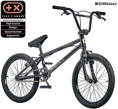 Bicicleta KHE BMX Cosmic Negra, Solo 11,1 kg: Amazon.es ...