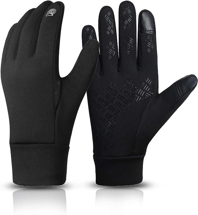 Winter Handschuhe Fahrradhandschuhe Warm Winddicht Touchscreen Herren Damen M-XL