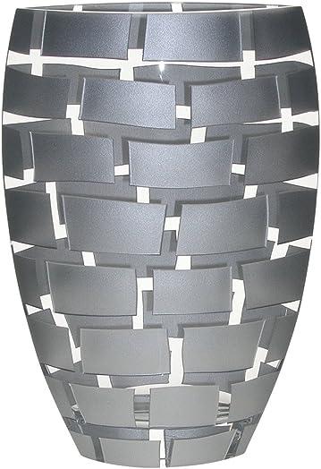 Badash Crystal Silver Wall Vase