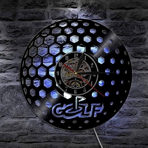 GuoEY Antiguo Silhouette LED retroiluminación Moderno luz Pared Le ...