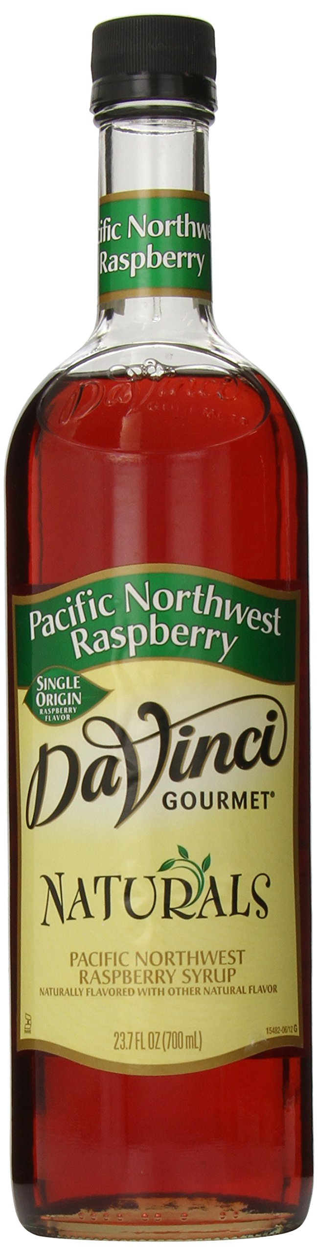 DaVinci Gourmet Naturals Syrup, Pacific Northwest Raspberry, 23.67 Ounce