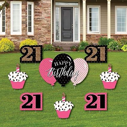 Amazon.com: Finally 21 chicas – 21 cumpleaños – cartel de ...