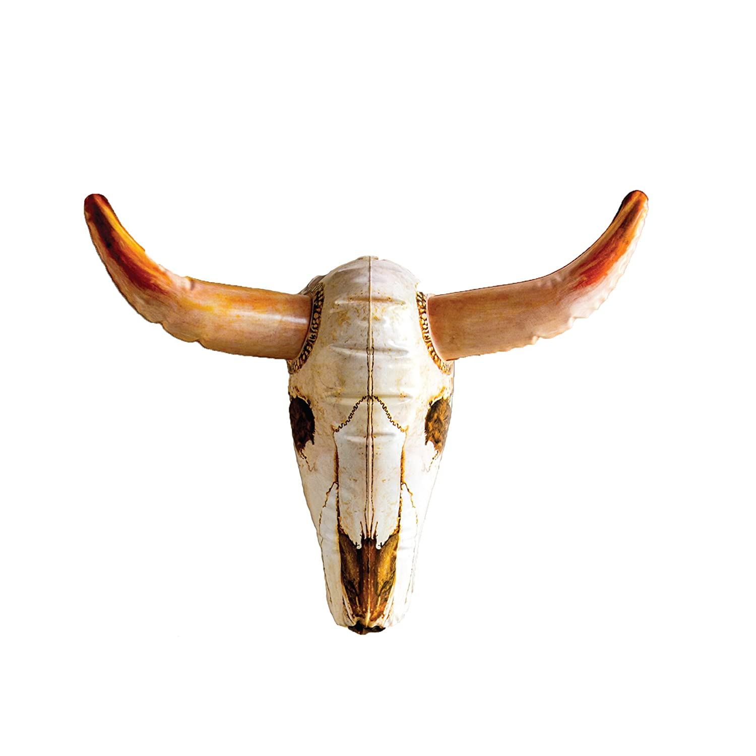 amazon com dci inflatable cow skull wall decor dci home u0026 kitchen