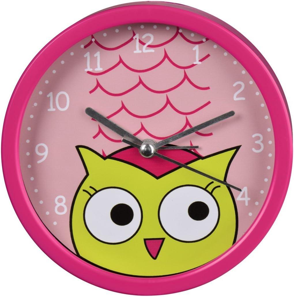 silent Hama Owl Childrens Alarm Clock