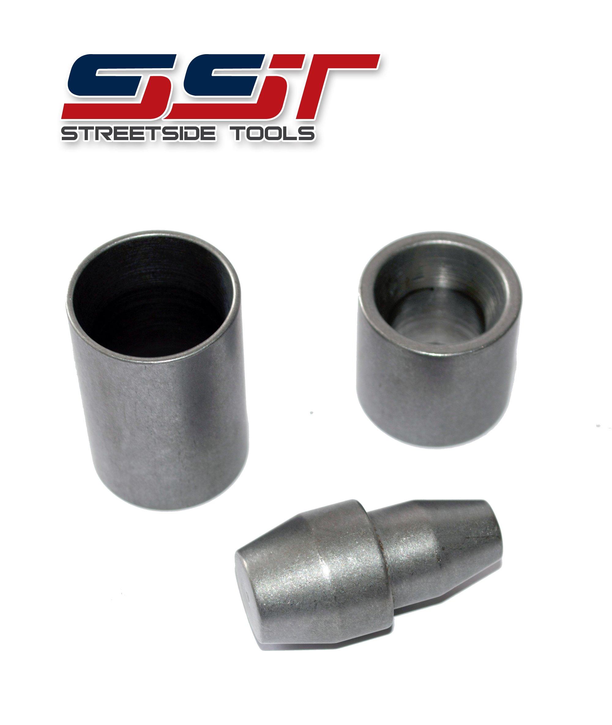 SST-2974 - GM- 4L80E & 4L85E Turbine Shaft Teflon Seal Installer / Expander & Re-Sizing Transmission Tool - 3 Piece Kit