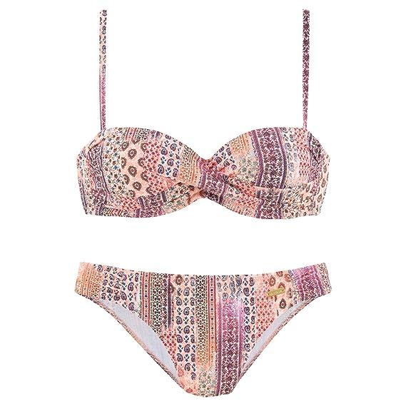 réduction jusqu'à 60% marque célèbre prix de détail Maillot de Bain 2 pièces Bikini Bandeau Sigi: Amazon.fr ...