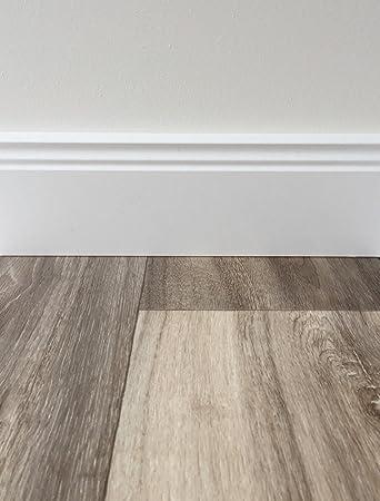 Gut PVC Bodenbelag Holzoptik In Grau Braun | Vinyl Fußbodenbelag 500 Cm Länge U0026