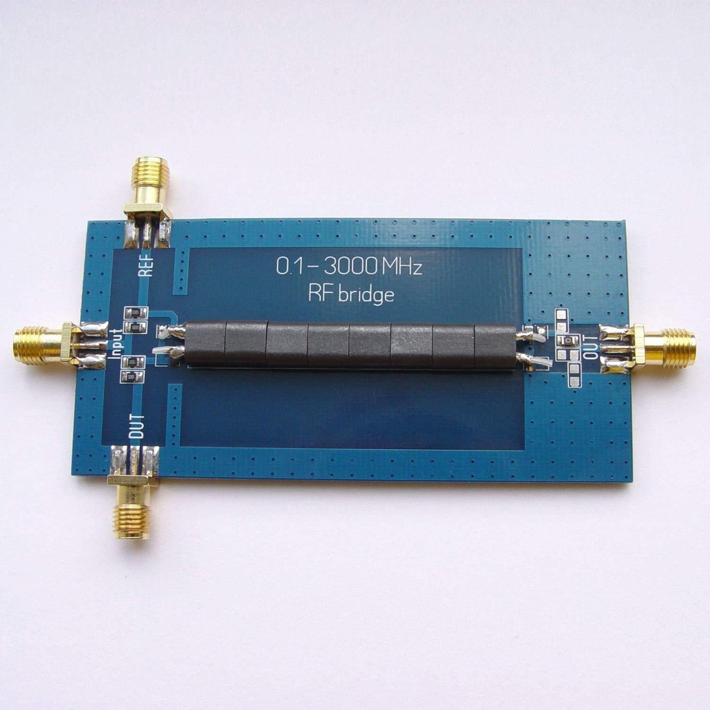 SODIAL RF SWR Reflection Bridge 0 1-3000 MHZ Antenna Analyzer VHF UHF VSWR  return loss