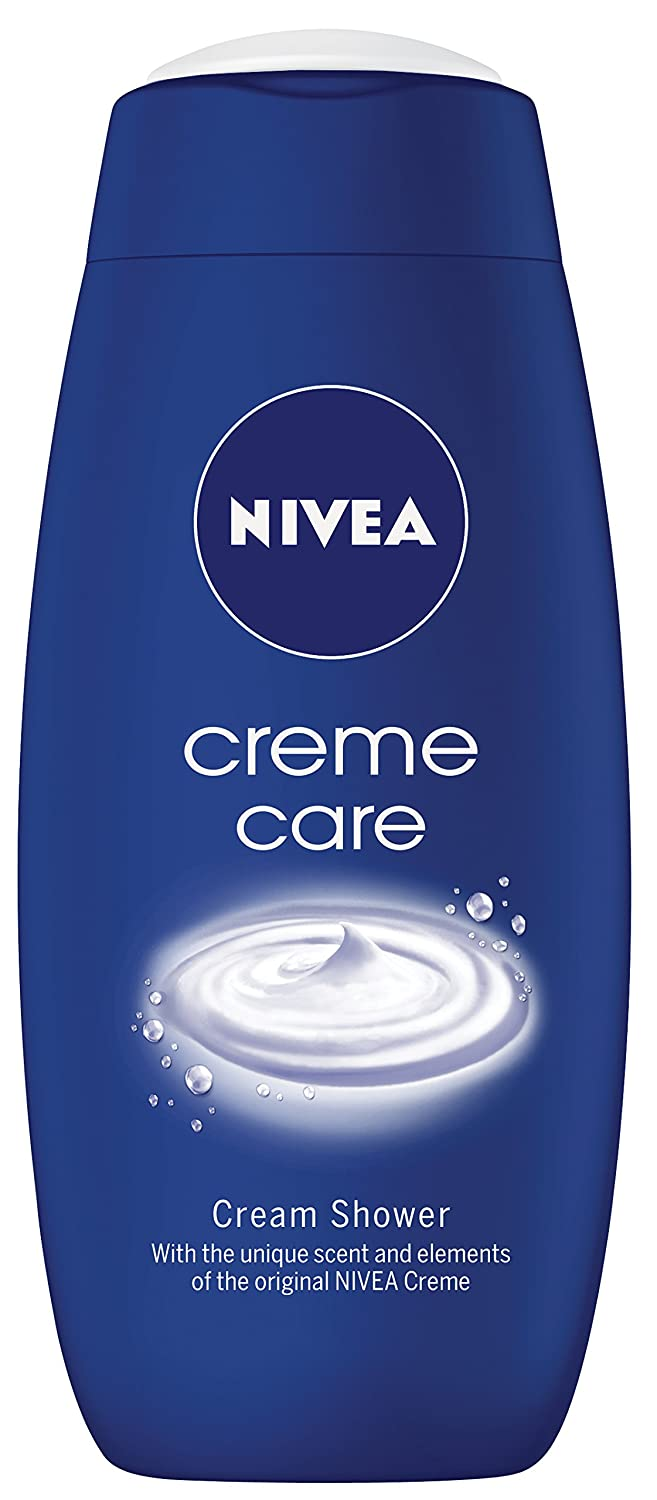 NIVEA Shower Cream Gel, Rich Moisture Creme 500 ml, Pack of 6 Beiersdorf UK Ltd 83627-04500-44