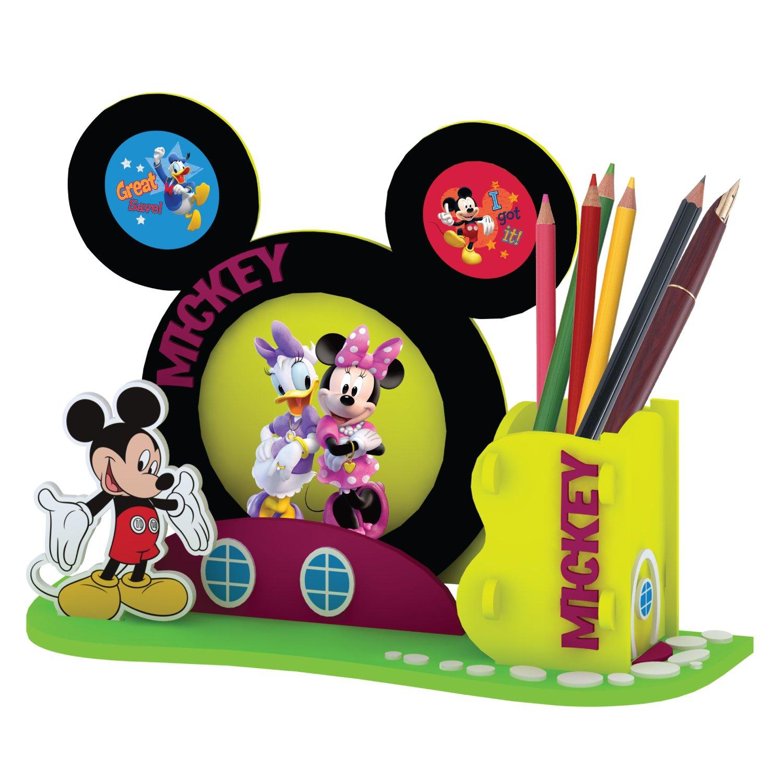 米奇色情网_disney 迪士尼 diy拼装 米奇黄色相框笔筒 jh002-7a
