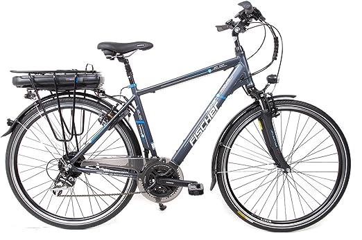 28 pulgadas Fischer bicicleta eléctrica E-Bike Pedelec Trekking 24 ...