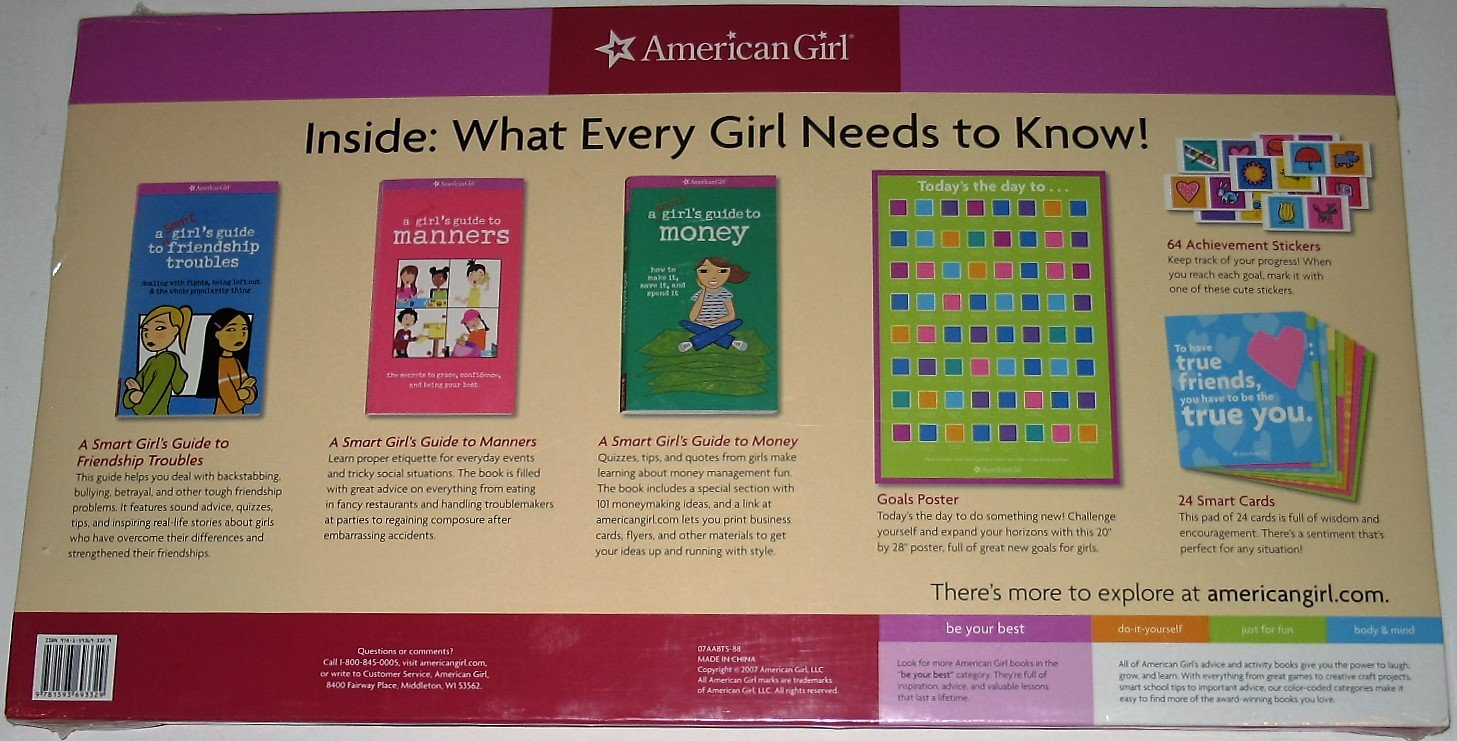 American Girl - What Every Girl Needs to Know! Gift Set: Nancy ...