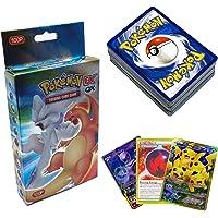 SunAurora - 100 Stuks Pokemon-Kaarten, Pokemon-Ruilkaarten Set - 78 EX Pokemon Kaarten,21 GX Pokemon Kaarten en 1…