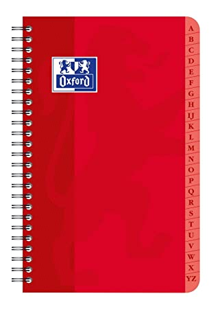 Amazon.com : Oxford 100101605 Directory Binding 9 x 14 cm 90 ...