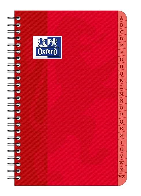 Amazon.com : Oxford 100101605 Directory Binding 9 x 14 cm 90 ...