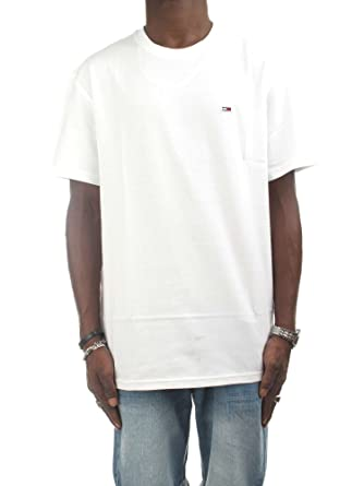 61645d9d Tommy Hilfiger T-Shirts For Men, XXL, White: Amazon.ae