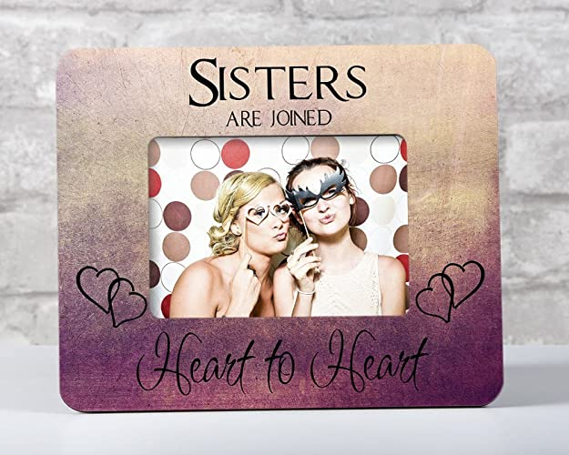 Amazoncom Sister Frame Sister Birthday Gift Sisters Picture