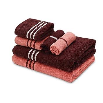 Palatial Lifestyles His Her Towel Combo 6 Piece Soft 100 Cotton Zero