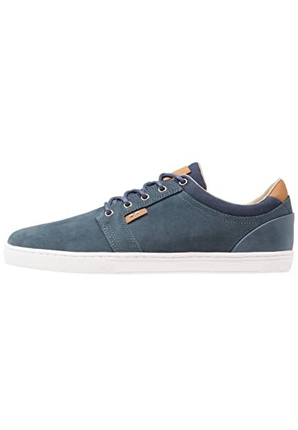 Pier One Men's Suede Sneakers In Two-Tone Blue, ...